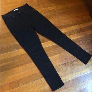 Levi's 721 High Rise Skinny (29) Black Stretch